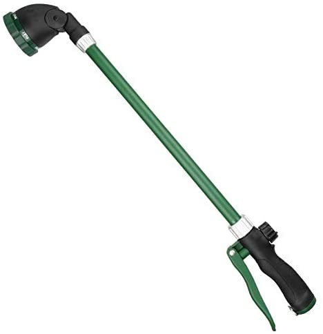 Read more about the article FLORIAX Watering Wand with Rotating Head Heavy Duty 24 Inch Ergonomic Sprayer Wand with Trigger Adjustable Spray Garden Hose Nozzles Hanging Basket Wand with Flow Control, No Assembly Required Wand