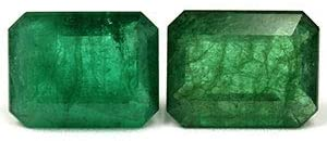 Read more about the article GemsNY 6.62 cttw. Natural Emerald Emerald Cut Matched Pair