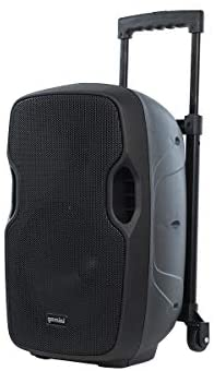 Read more about the article Gemini Sound AS-10TOGO Wireless Pro DJ Battery Powered Portable PA Loudspeaker w/ 1000W Class AB Amplifier, 10″ Inch Woofer, Bluetooth, SD, USB, Microphone/Guitar Input, Trolley Handle, Mic Set
