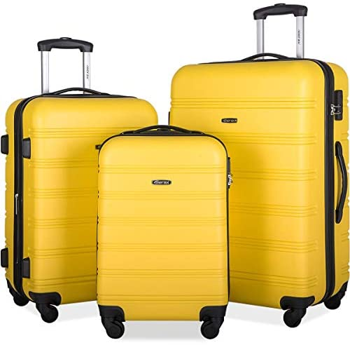 Read more about the article Merax 3 Pcs Luggage Set Expandable Hardside Lightweight Spinner Suitcase with TSA Lock [Upgraded Version] (yellow2019)
