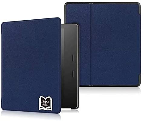 Read more about the article CONGCASE PU Leather Lightweight Protective Case with Auto Wake Sleep for Amazon Kindle Oasis (10th Generation, 2019 Release and 9th Generation, 2017 Release) (Color : Blue)
