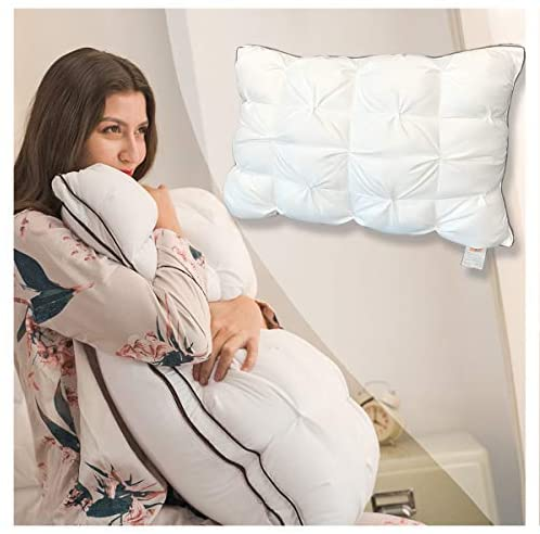 Read more about the article Pillows Super Support Soft Luxury Hotel Sleeping Pillow, Duvet Technology, Adjustable Height Comfortable and Ultra Bounce Pillow, Removable Pillowcase 30 x 20 inch Mothers Birthday Gifts