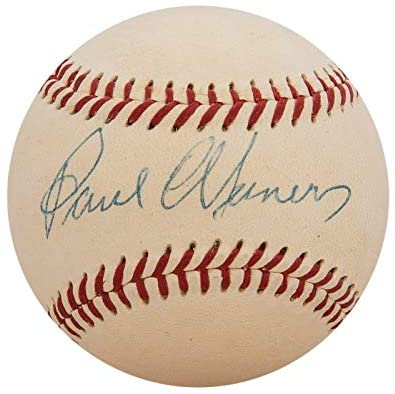 Read more about the article The Finest Paul Waner Single Signed American League Baseball With Beckett COA – Autographed Baseballs