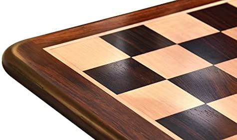Read more about the article Wooden Chess Board Dark Brown Indian Rosewood 21″ – 55 mm