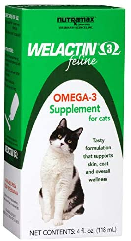 Read more about the article Welactin Omega-3 Fish Oil Skin and Coat Health Supplement Liquid For Cats