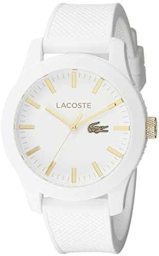 Read more about the article Lacoste Men's 2010819 Lacoste.12.12 Analog Display Quartz White Watch