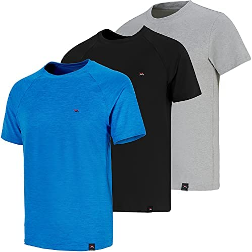 Read more about the article WolMaxx Workout Shirts for Men, Gym Running Athletic Shirts Dry Fit Moisture Wicking Short Sleeve Crew Neck T Shirts (3 Pack)