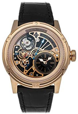 Read more about the article Louis Moinet Tempograph Mechanical(Automatic) Black, Skeleton Dial Watch LM-50.50.50 (Pre-Owned)