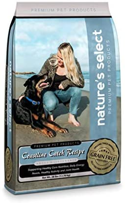 Read more about the article Nature's Select Coastline Catch Recipe – Grain Free Fish Adult Dry Dog Food