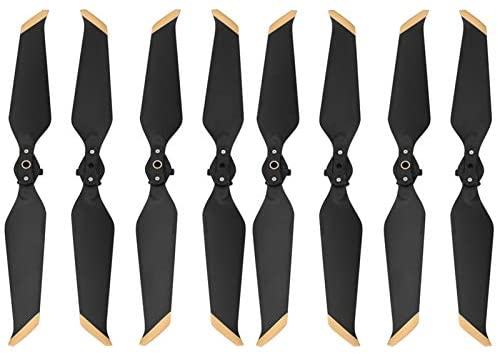Read more about the article JIEPPTO 8pcs for DJI Mavic 2 Pro Zoom 8743 Propeller, Low Noise Quick Release Type with New Aerodynamic Design, Drone Accessories ( Color : 8PCS Gold )