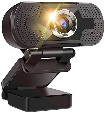 Read more about the article 1080P Webcam with Microphone, HD Streaming USB Computer Webcam Adjustable Base [Plug and Play], Video Conferencing/Calling/Gaming/Laptop/Desktop Mac/Skype/YouTube/Zoom/Facetime