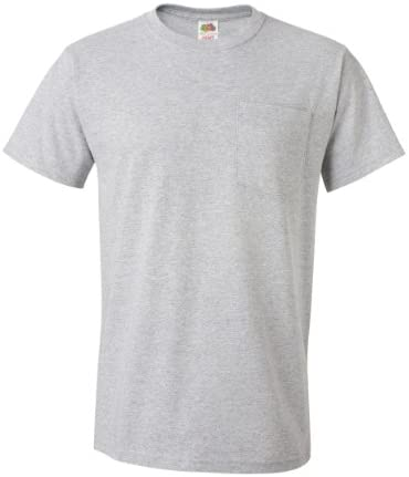 Read more about the article Fruit of the Loom Mens 4Pack Pocket Crew TShirt
