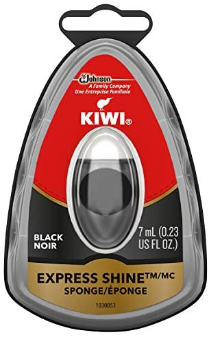 Read more about the article KIWI Express Shoe Shine Sponge | Leather Care for Shoes, Boots, Furniture, Jacket, Briefcase and More | Black