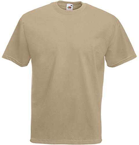Read more about the article Fruit of the Loom Mens Valueweight Short Sleeved T Shirt Tee Up to 4XL