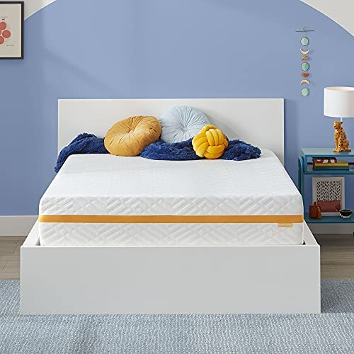 Read more about the article Simmons – Gel Memory Foam Mattress – 12 Inch, Queen Size, Plush Feel, Motion Isolating, Moisture Wicking Cover, CertiPur-US Certified, 100-Night Trial