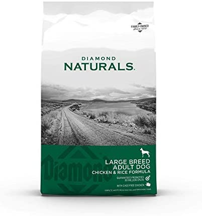 Read more about the article Diamond Naturals Premium Large Breed Formulas Dry Dog Food for Adult Dogs and/or Puppies Made with Real Meat Protein, Superfoods, Probiotics and Antioxidants
