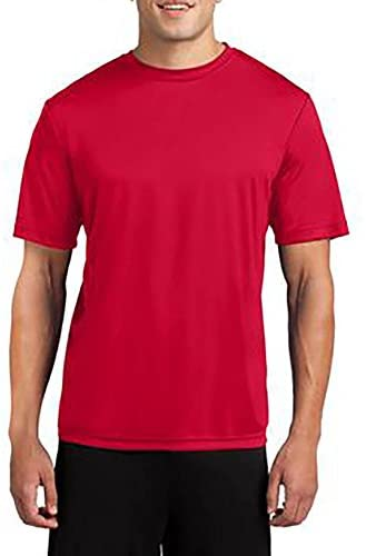 Read more about the article Dri-Wick Men's Big & Tall Sport Performance Moisture Wicking Athletic T Shirt