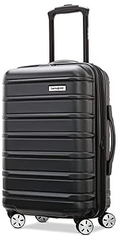 Read more about the article Samsonite Omni 2 Hardside Expandable Luggage with Spinner Wheels, Midnight Black, Carry-On 20-Inch