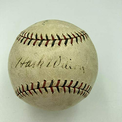 Read more about the article The Finest Hack Wilson Single Signed 1930 National League Baseball PSA DNA COA – Autographed Baseballs