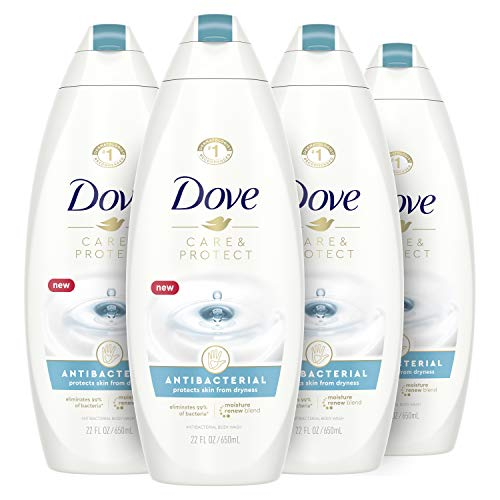 Read more about the article Dove Body Wash For All Skin Types Antibacterial Body Wash Protects from Dryness 22 oz 4 Count
