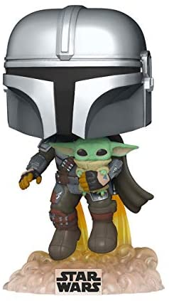 Read more about the article Funko Pop! Star Wars: The Mandalorian – Mandalorian Flying with The Child