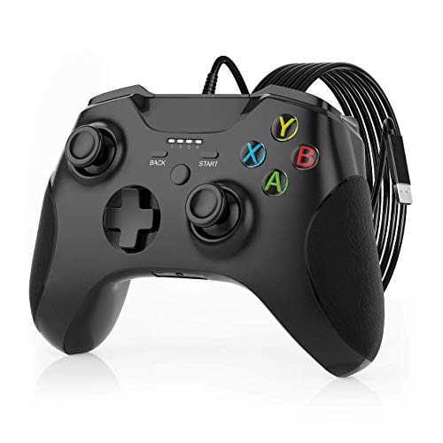 Read more about the article Wired Controller for Xbox One, JORREP 6.6ft Wired Controller Pro with Audio Jack, Vibration Feedback, Wired Gamepad for Xbox One S/One X, Windows 7/8/10