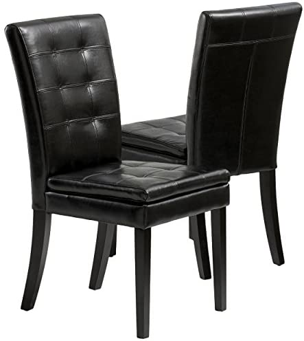 Read more about the article Best Selling Clayton Leather Dining Chair, Black, Set of 2