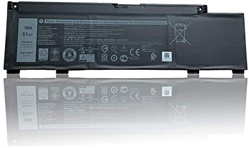 Read more about the article efohana 266J9 Laptop Battery Replacement for Dell G3 3500 3790 3590 G5 5590 G7 7590 7790 Series Notebook 0415CG C9VNH 11.4V 51Wh 4255mAh 3-Cells