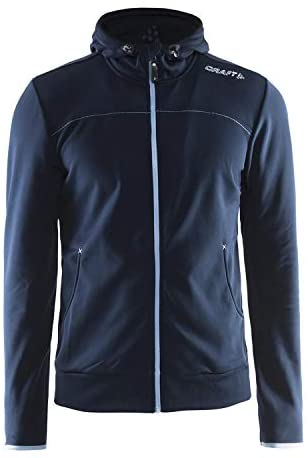 Read more about the article Craft Men's Full-Zip Leisure Hoodie