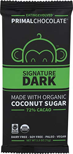 Read more about the article Evolved, Bar Chocolate Raw 72% Organic, 2.5 Ounce