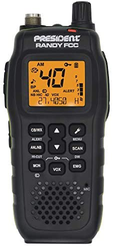 Read more about the article President Randy FCC Handheld or Mobile CB Radio with Weather Channel and Alerts
