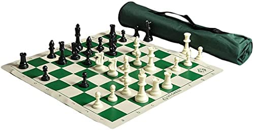 Read more about the article US Chess Quiver Triple Weighted Tournament Chess Set Combination
