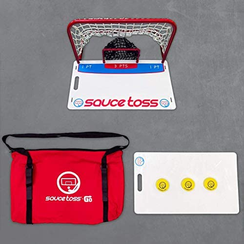 Read more about the article Sauce Toss Go Premium Travel Yard Game with Travel Bag