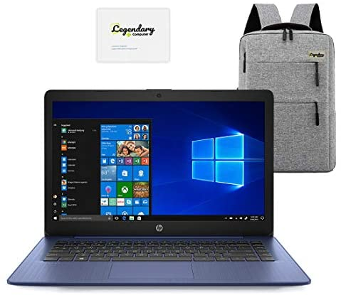 Read more about the article 2020 HP 14 inch HD Laptop, Intel Celeron N4000 up to 2.6 GHz, 4GB DDR4, 64GB eMMC Storage, WiFi 5, Webcam, HDMI, Windows 10 S /Legendary Accessories (Google Classroom or Zoom Compatible) (Blue)