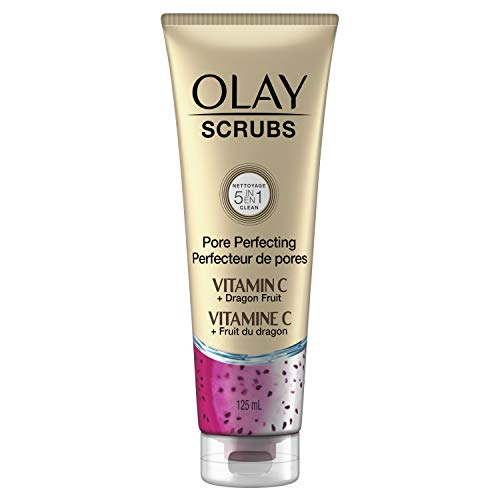 Read more about the article Olay Pore Perfecting Face Scrub with Vitamin C and Dragon Fruit, 4.2 Fl Oz