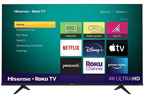 Read more about the article Hisense 65-Inch Class R6 Series Dolby Vision HDR 4K UHD Roku Smart TV with Alexa Compatibility (65R6G, 2021 Model)