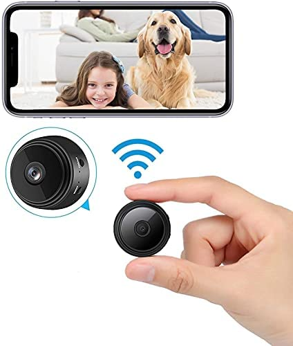 Read more about the article 2021 New Version Mini WiFi Hidden Cameras