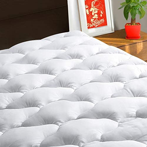 Read more about the article TEXARTIST Full Mattress Pad Cover Cooling Mattress Topper 400 TC Cotton Pillow Top Mattress Cover Quilted Fitted Mattress Protector with 8-21 Inch Deep Pocket