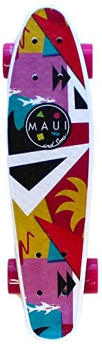 Read more about the article Maui and Sons 22″ Shark Tank Printed PU Kicktail Skateboard