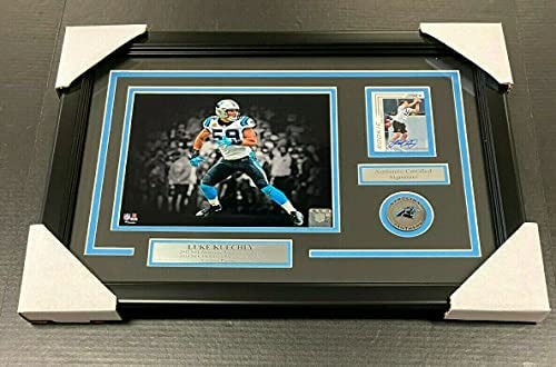 Read more about the article LUKE KUECHLY CAROLINA PANTHERS AUTOGRAPHED CARD WITH 8X10 Photo Framed