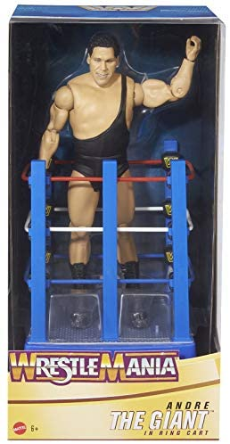 Read more about the article Ringside Andre The Giant – WWE Wrestlemania 37 Celebration Mattel Toy Wrestling Action Figure