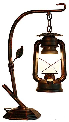 Read more about the article Rarlonly Rustic Lodge Novelty Desk Lamp, Table Lamps for Living Room,Ambient Light Country Table Lamps for Bedroom 110V