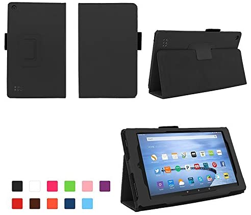 Read more about the article Case for All-New Fire 7 2017 – Premium Folio Case for All-New Fire 7 Tablet with Alexa 7th Generation – (Black)