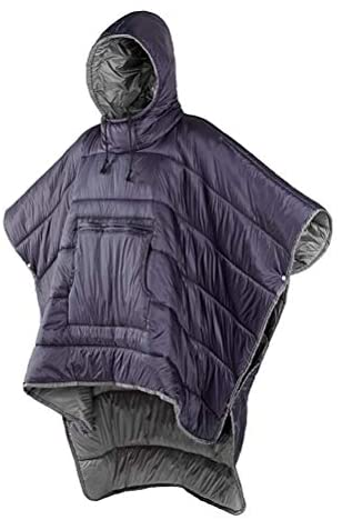 Read more about the article Honcho Poncho Wearable Hoodie Blanket – Premium Camping Sleeping Bag Winter Outdoor Cloak Cape, Extreme Weather Warm/Waterproof/Windproof Hooded Blanket with Stuff Sack,Purple