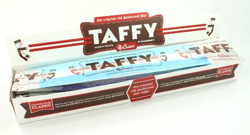 Read more about the article McGraws Giant Flat Taffy Candy, 24 Pack, Asst Flavors