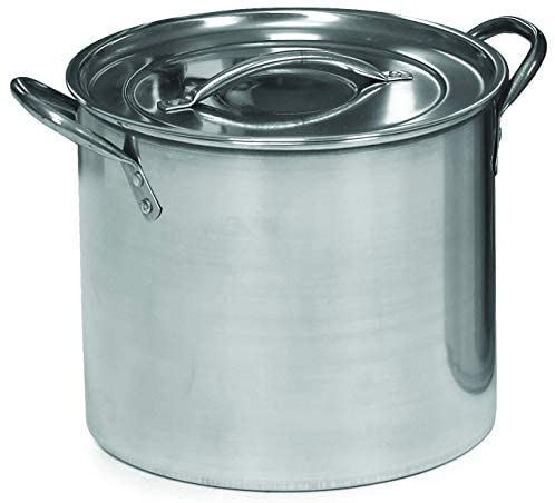 Read more about the article IMUSA USA Stainless Steel Stock Pot with Lid 16-Quart, Silver