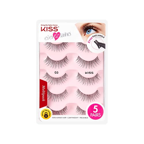 Read more about the article Kiss Products No. 03 Ever EZ Lashes, 10 Count (Packaging may vary)
