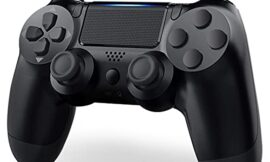 Wireless Controller for PS4, Playstation 4 Controller Compatible with PS4/ Pro/Slim/IOS/Android, PS4 Wireless Controller with Dual Shock Vibration/Gyro/Audio Jack/Touch pad