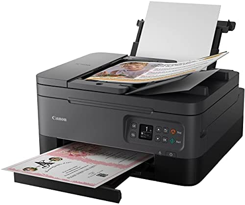 Read more about the article Canon PIXMA TR 7000 Series All-in-One Color Wireless Bluetooth Inkjet Printer – Black – Print Copy Scan – 13 ipm, 4800×1200 dpi, Borderless Auto 2-Sided Printing, 35-Sheet ADF – BROAGE Printer Cable