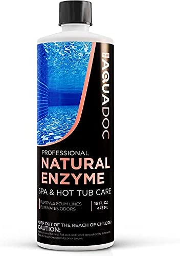 Read more about the article Spa Enzyme for Hot Tubs, Spa Enzyme Water Treatment to Clarify Hot Tub Water. Natural Enzyme Hot Tub Cleaner, Spa Enzyme Cleaner & Natural Hot Tub Chemicals to Make your Spa Perfect – 16oz MAV AquaDoc